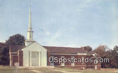 First Baptist Church - Fairmont, West Virginia WV Postcard