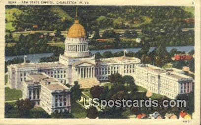 New State Capitol - Charleston, West Virginia WV Postcard