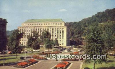 Colorful Court, State Capitol - Charleston, West Virginia WV Postcard