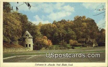 Hawk's Nest State Park, West Virginia Postcard      ;      Hawk's Nest State Park, WV