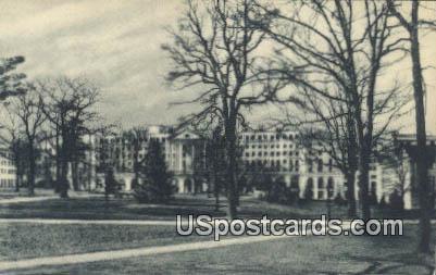 Greenbrier & Cottages - Lewisburg, West Virginia WV Postcard