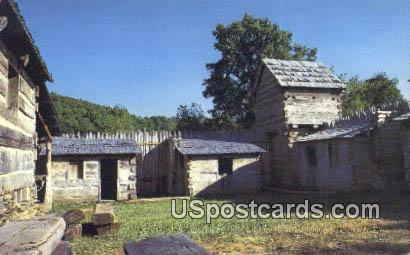 Pricketts Fort - Fairmont, West Virginia WV Postcard