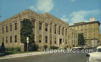 Raleigh County Courthouse - Beckley, West Virginia WV Postcard