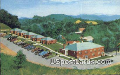 Elkins Motor Lodge - West Virginia WV Postcard