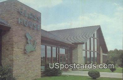 Interstate Hosts Glass House Restaurant - Beckley, West Virginia WV Postcard