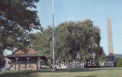 Tu-Endie-Wei Park - Point Pleasant, West Virginia WV Postcard