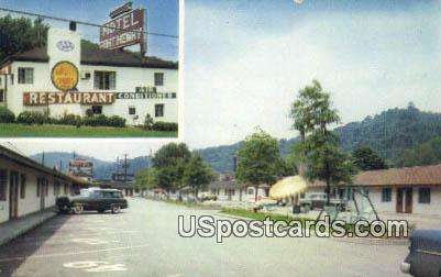 Motel Fort Henry & Restaurant - Wheeling, West Virginia WV Postcard