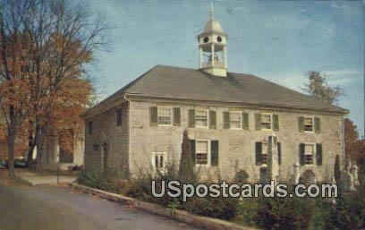Old Stone Church - Lewisburg, West Virginia WV Postcard