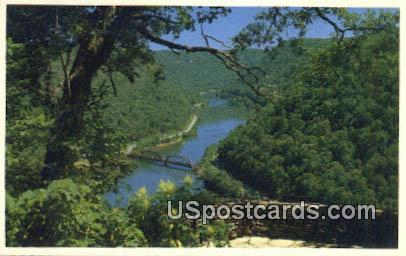 Hawk's Nest State Park - Ansted, West Virginia WV Postcard