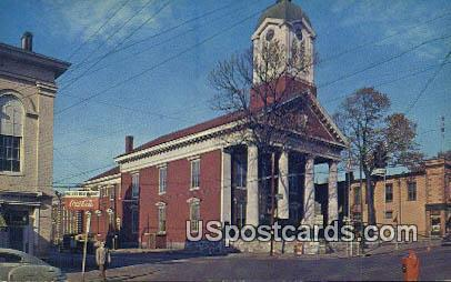 Jefferson County Court House - Charles Town, West Virginia WV Postcard