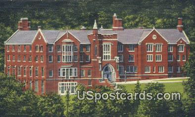 Phillip's Hall, Bethany College - West Virginia WV Postcard