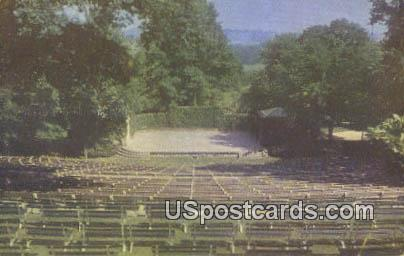 Amphitheatre, Oglebay Park - Wheeling, West Virginia WV Postcard