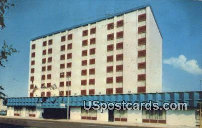 Heart O'Town Motor Inn - Charleston, West Virginia WV Postcard