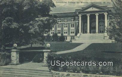 Greenbrier College for Women - Lewisburg, West Virginia WV Postcard