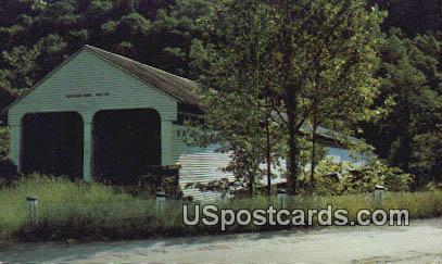 Old Covered Bridge - Grafton, West Virginia WV Postcard