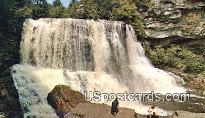 Blackwater Falls - Davis, West Virginia WV Postcard