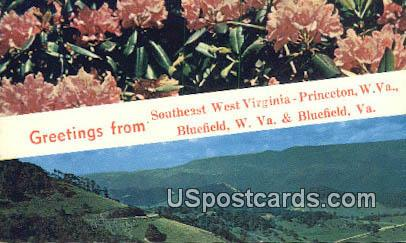 Princeton, WV Postcard      ;      Princeton, West Virginia