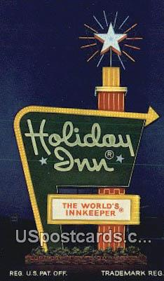 Holiday Inn - Princeton, West Virginia WV Postcard