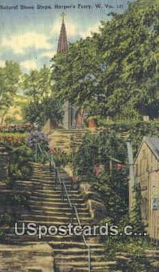 Nat - Harpers Ferry, West Virginia WV Postcard
