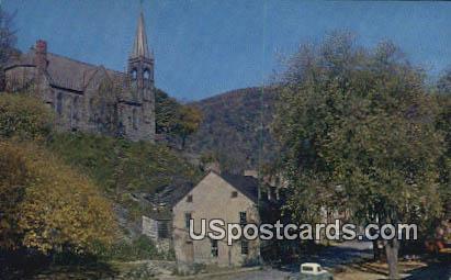 Stage Coach Inn - Harpers Ferry, West Virginia WV Postcard