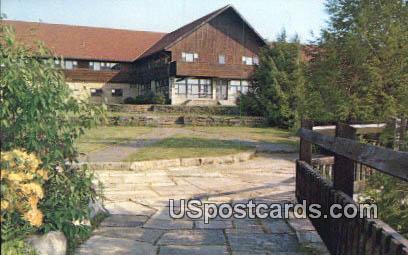 Blackwater Lodge - Davis, West Virginia WV Postcard