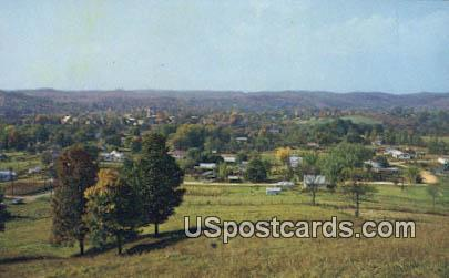 North Bend State Park - Harrisville, West Virginia WV Postcard