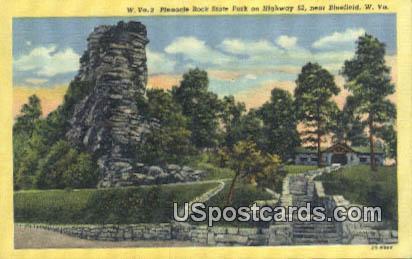 Pinnacle Rock State Park - Bluefield, West Virginia WV Postcard