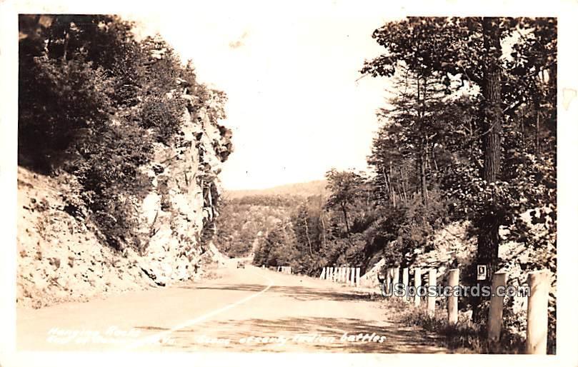 Hanging Rocks - Romney, West Virginia WV Postcard