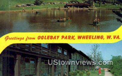 Oglebay Park - Wheeling, West Virginia WV Postcard