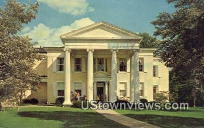 Mansion House Museum, Oglebay Park - Wheeling, West Virginia WV Postcard