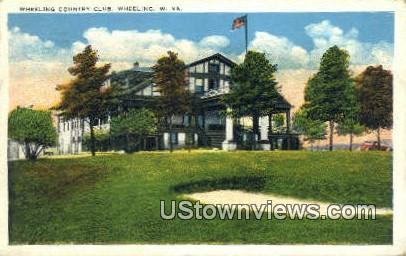 Wheeling Country Club - West Virginia WV Postcard
