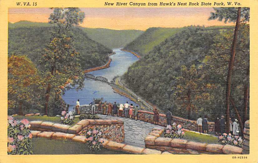 Hawks Nest Rock State Park WV
