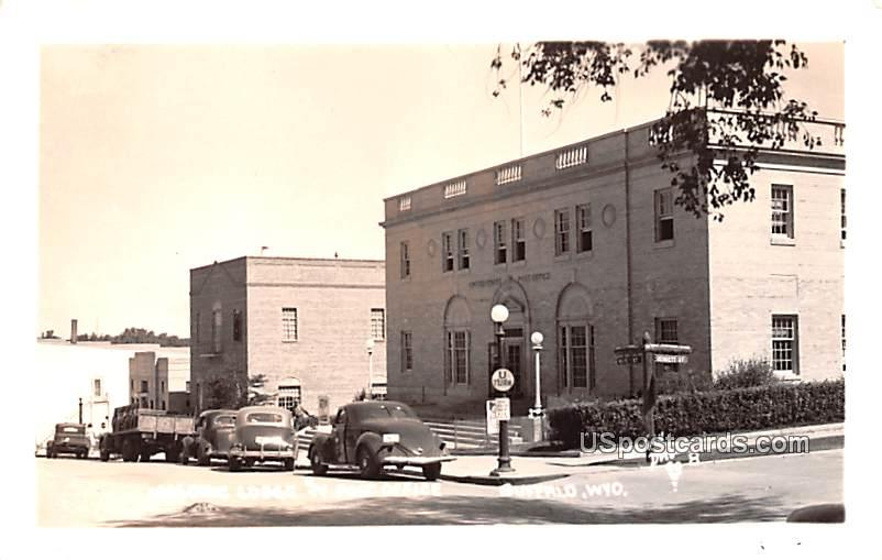 Masonic Lodge - Buffalo, Wyoming WY Postcard
