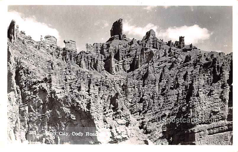 Holy City - Cody, Wyoming WY Postcard