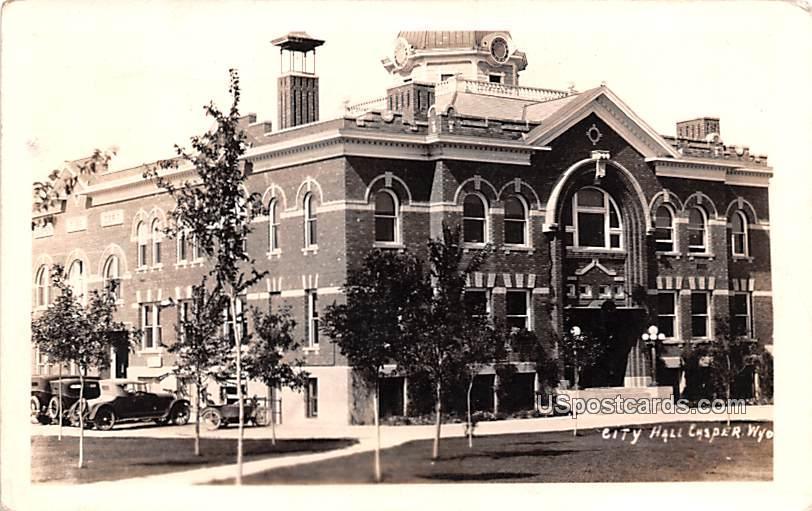 City Hall - Casper, Wyoming WY Postcard