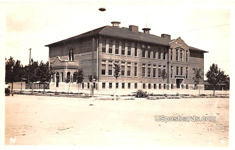 Central School - Casper, Wyoming WY Postcard