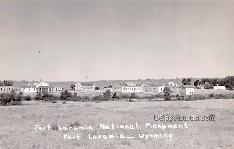Fort Laramie National Monument - Wyoming WY Postcard