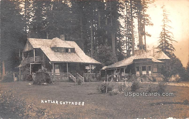 Antler Cottages - Greybull, Wyoming WY Postcard