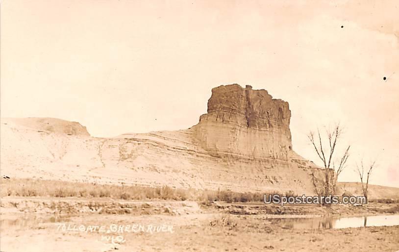 Tollgate - Green River, Wyoming WY Postcard