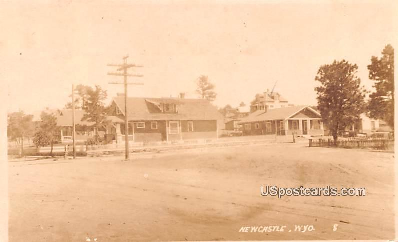 Residences - Newcastle, Wyoming WY Postcard
