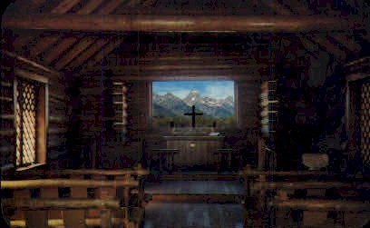 Tetons - Jackson Hole, Wyoming WY Postcard