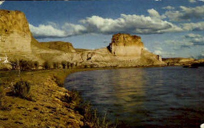 Green River, Wyoming, WY Postcard