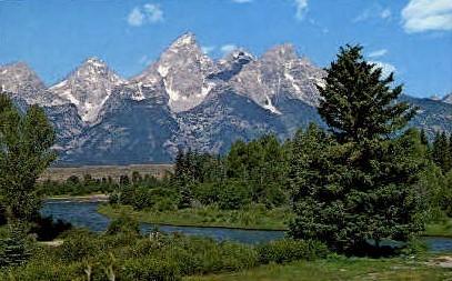 Grand Teton National Park - Jackson Hole, Wyoming WY Postcard