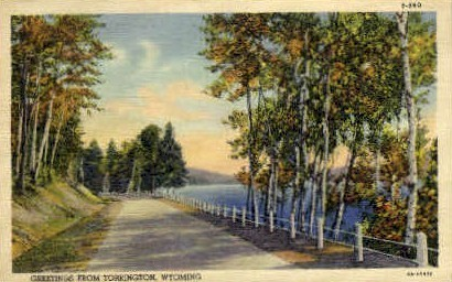 Torrington, Wyoming, WY Postcard