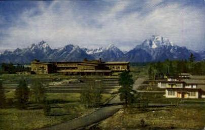 Jackson Lake Lodge - Jackson Hole, Wyoming WY Postcard