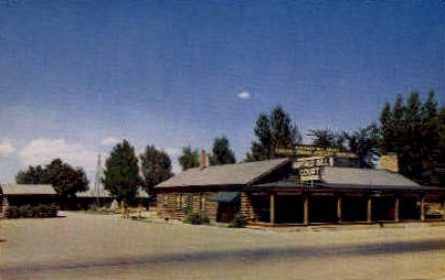 Buffalo Bill Court - Cody, Wyoming WY Postcard