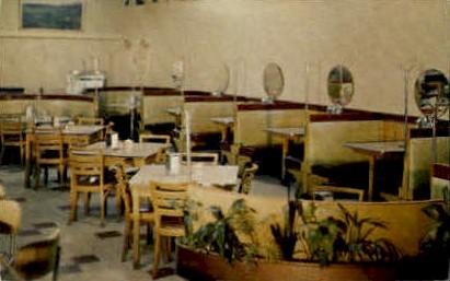 Main Dinning Room, Idlewild Caf» - Buffalo, Wyoming WY Postcard