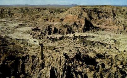 Hell's Half Acre - Casper, Wyoming WY Postcard
