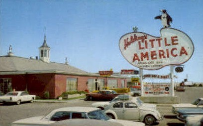 Holdings Little America - Wyoming WY Postcard