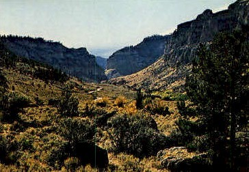 Big Horn Mountains - Wyoming WY Postcard